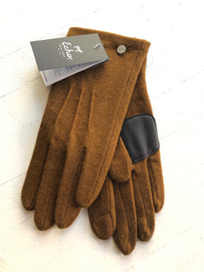 Water Repellent Classic Touch Glove in Ochre