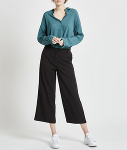 Culotta Trouser in Black