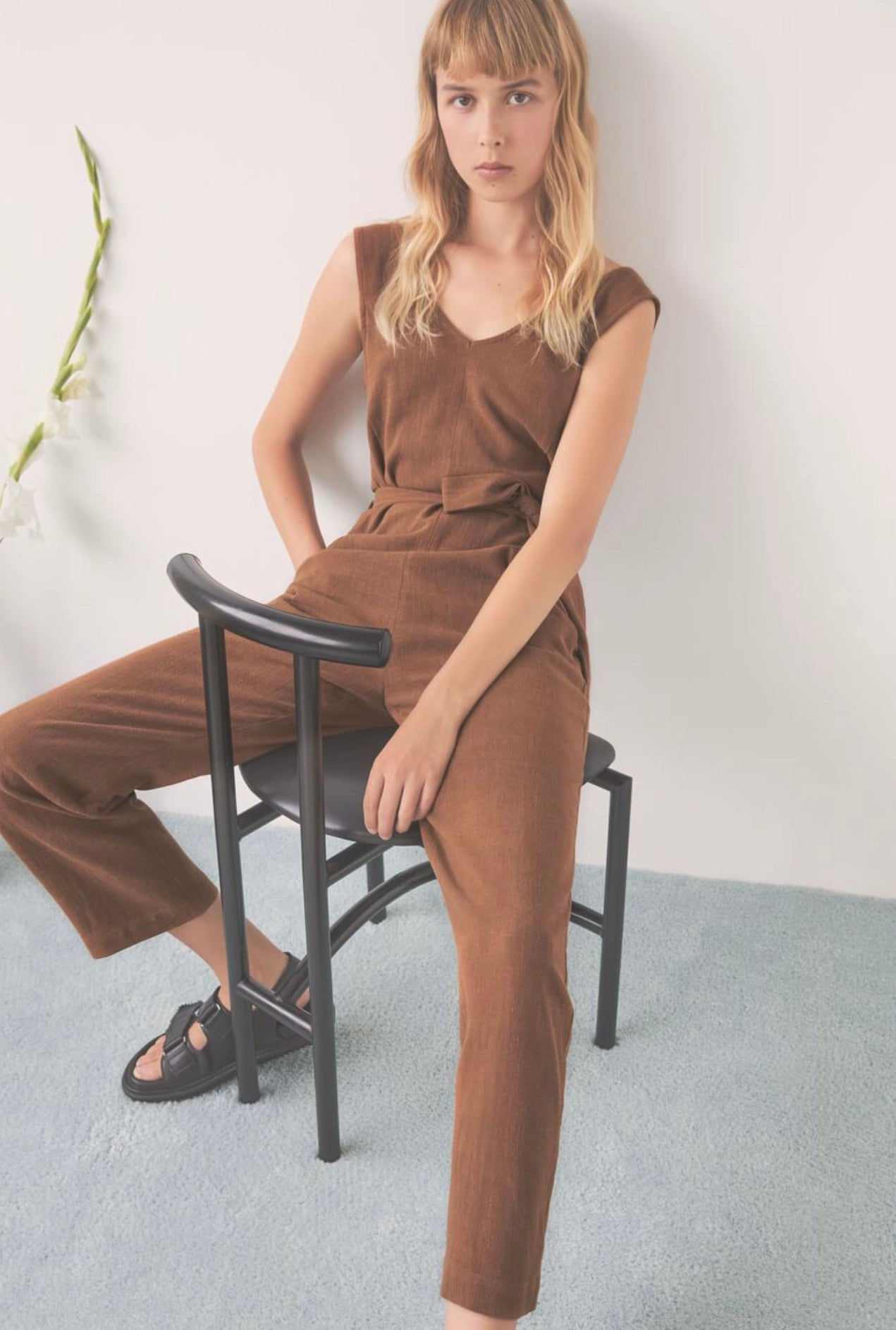 OWL MOON Jumpsuit in Copper