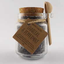 Load image into Gallery viewer, Charcoal & Peppermint Bath Salts