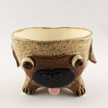 Load image into Gallery viewer, Pug Ceramic Pot Planter