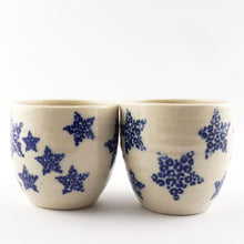 Load image into Gallery viewer, Blue Stars Tumblers 6oz