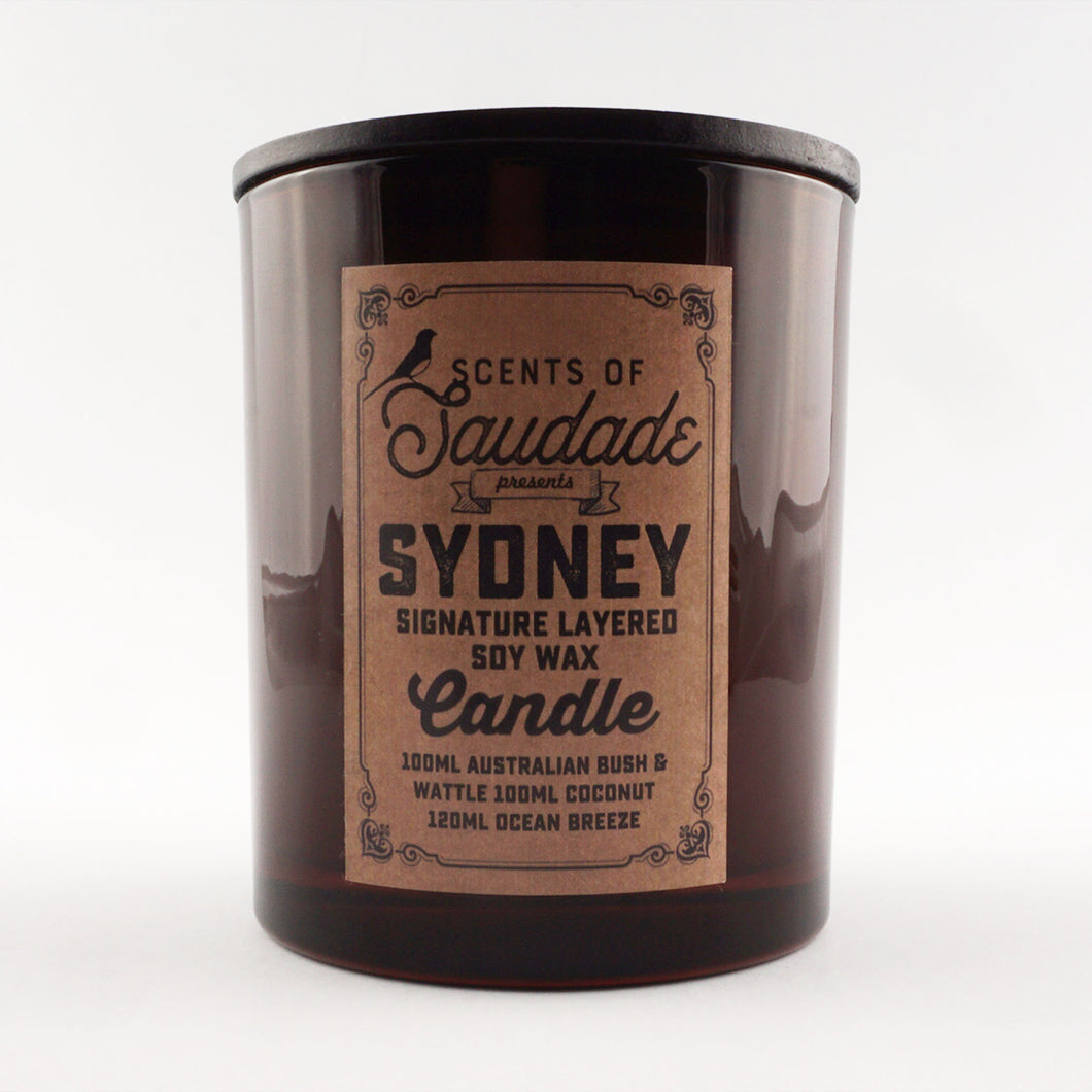 Sydney Signature Layered Soy Candle