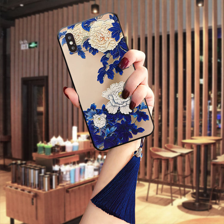 Huawei iPhone11 Phone Case 3D Floral HD Painting