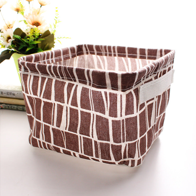 Desktop Debris Basket Storage Box Clothes Storage Box