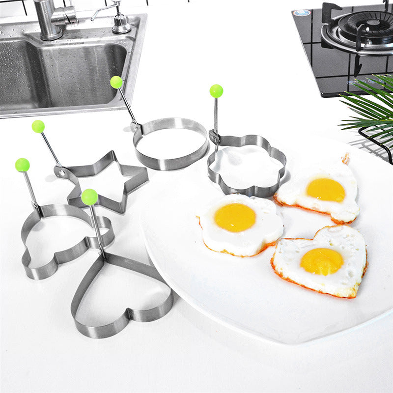 Thickened Stainless Steel Omelette Model 5Piece