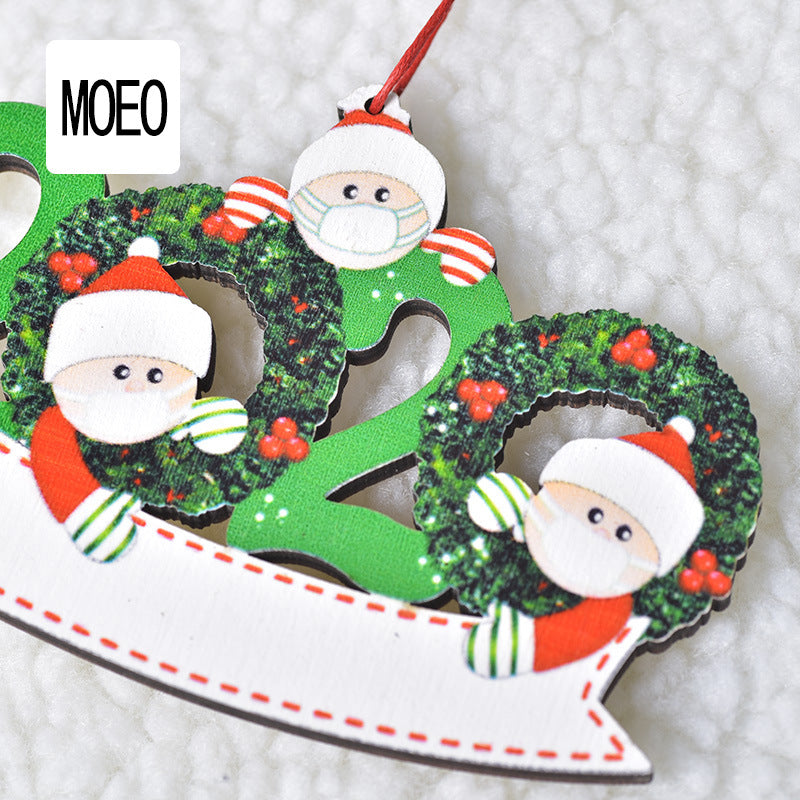 Christmas Tree Pendant 4 Pieces