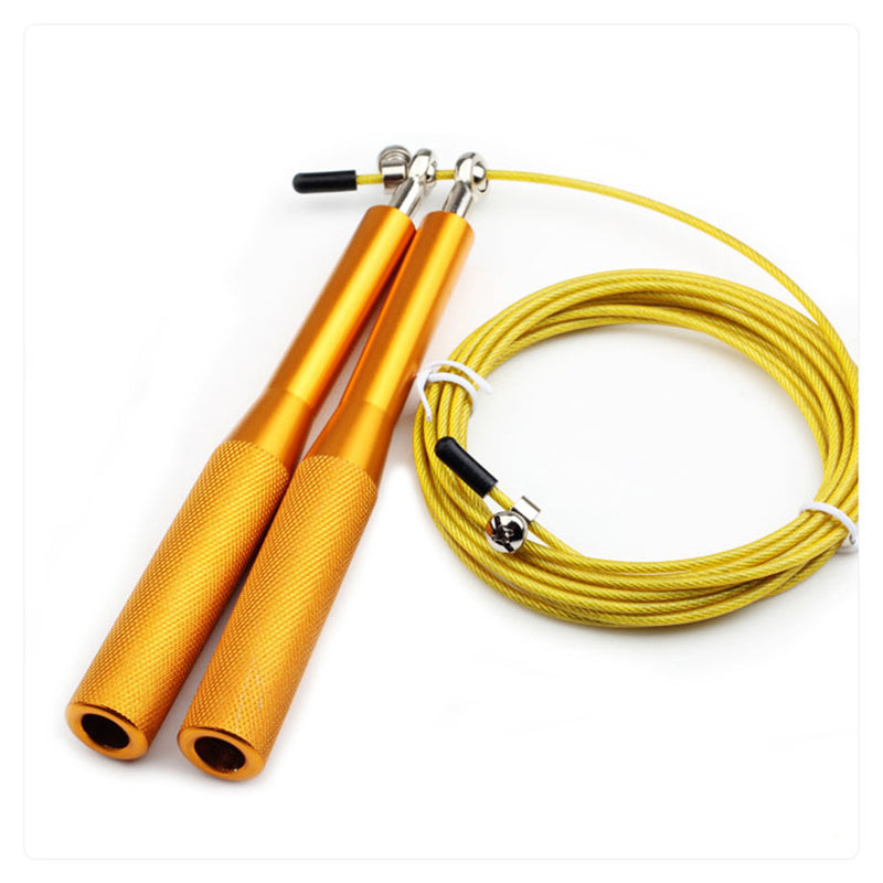 Rope Skipping Steel Skipping Rope Training Exercise Fitness
