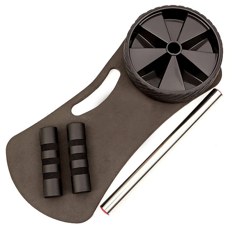 Fitnessery Ab Roller for Abs Workout - Ab Roller Wheel Exercise Equipment - Ab Wheel Exercise Equipment - Ab Wheel Roller for Home Gym