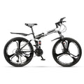 Folding Mountain Bikes 21 Speed Road Bike Lightweight 26 inch Wheel