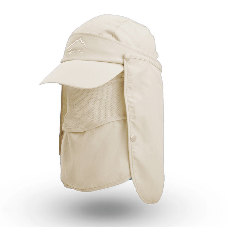 UV Protection Sun Hat Outdoor Fishing Hat Men Sun Protection Hat