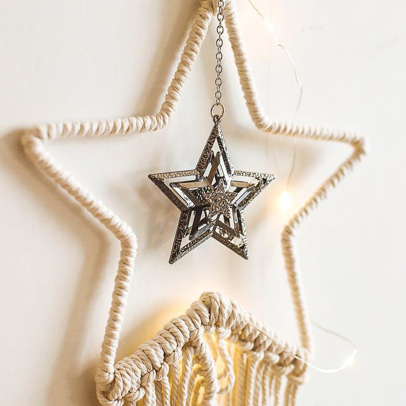 Hand-woven Star Tapestry Living Room Ornaments