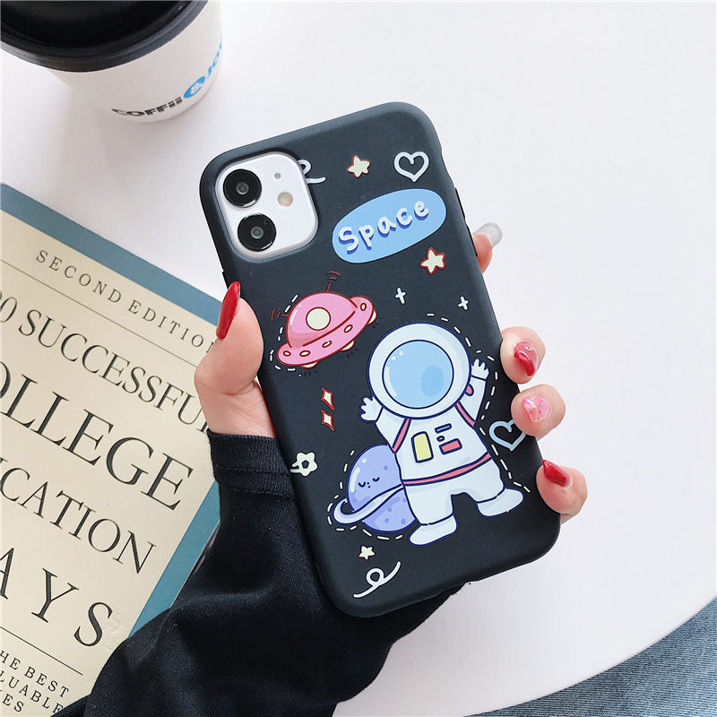 Cartoon Print iPhone11 Case iphone 11 cases cute