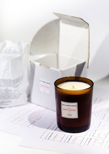213 RUE SAINT-HONORE AIR - 190G CANDLE - #hapi Fish-CANDLE