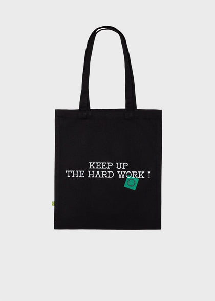 BITAGORE TOTE BAG BLACK - #hapi Fish-BAG