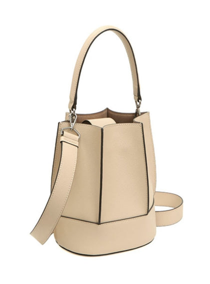 CALF LEATHER BUCKET BAG - #hapi Fish-BAG