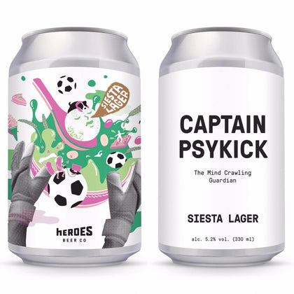 CAPTAIN PSYKICK Siesta Lager 330ml - #hapi Fish-BEER