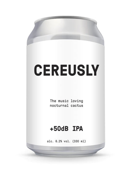 CEREUSLY +50dB IPA 330ml - #hapi Fish-BEER