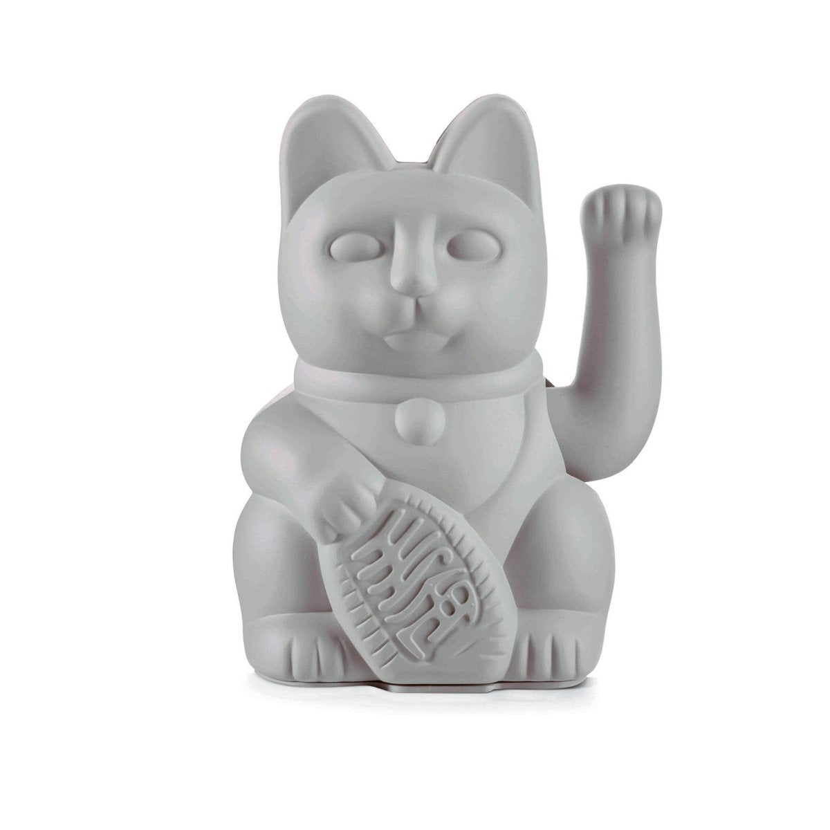 DONKEY Lucky Cat Waving Cat - Grey