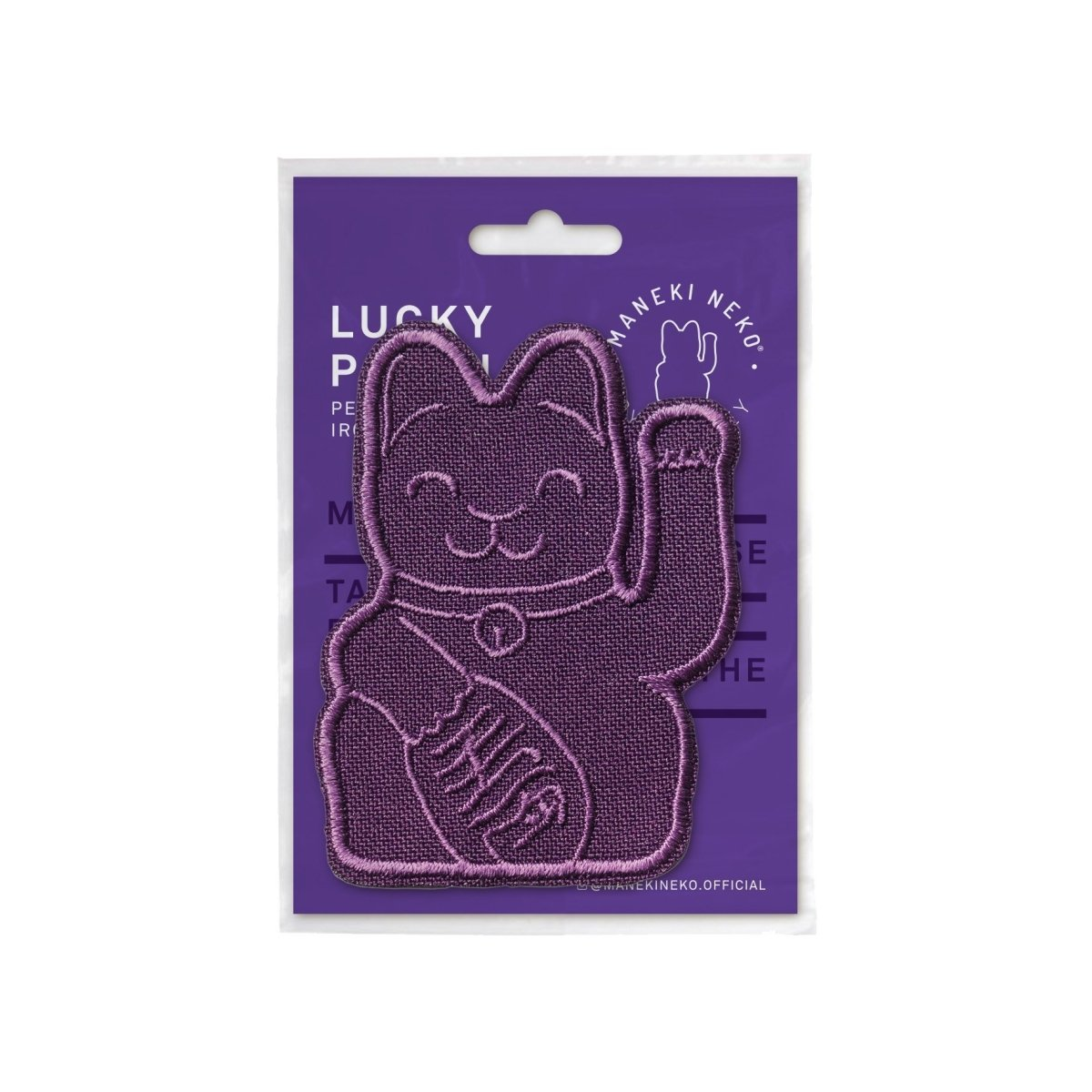 DONKEY Maneki Neko Patches - Purple