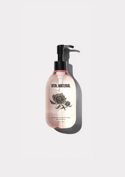 HAND SOAP ROSE 300ml - #hapi Fish-BODY WASH