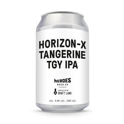HORIZON -X Tangerine TGY Pale Ale 330ml - #hapi Fish-BEER