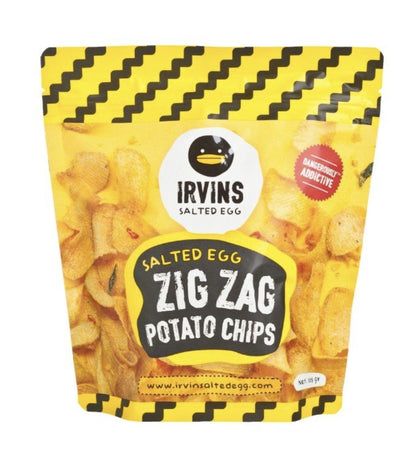 IRVINS SALTED EGG POTATO CHIPS 230G - #hapi Fish-CHOCOLATE & SNACKS
