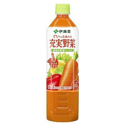 ITO EN Vegetable and Fruit Juice Jujitsu Yasai 930G - #hapi Fish-JUICE & NECTAR