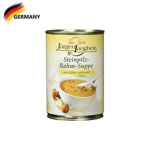 Juergen Langbein Cream of Mushroom Soup 400G 400ML