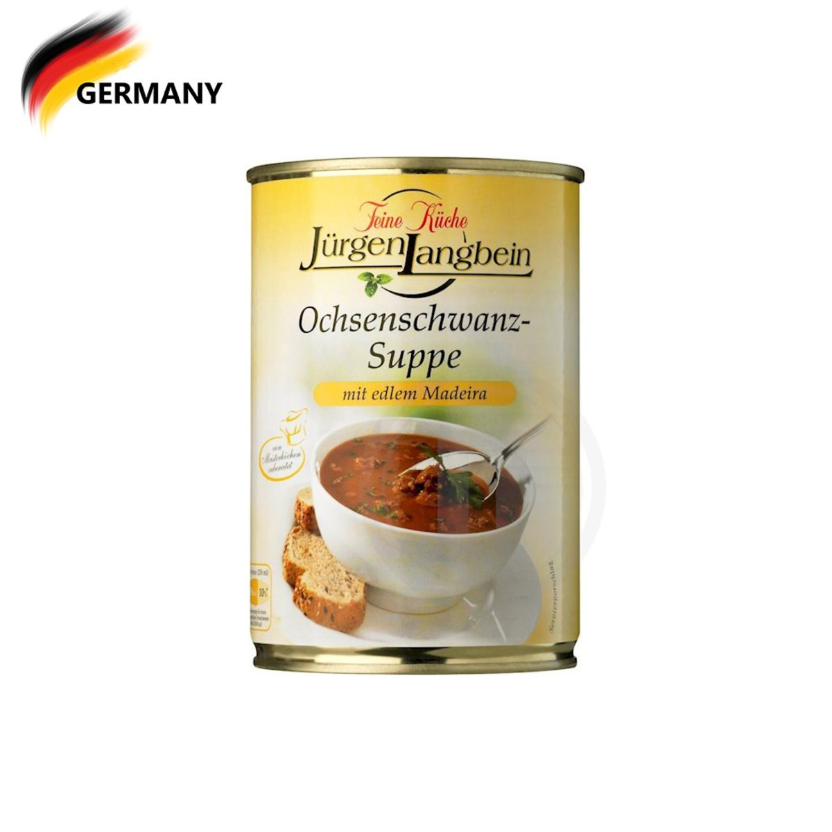 Juergen Langbein Oxtail Soup 400ML