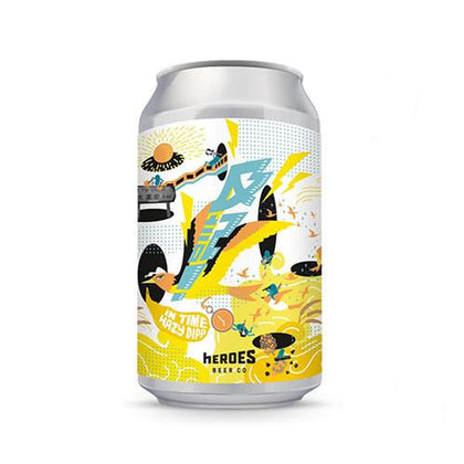 KUPZZY In Time Hazy DIPA 330ml - #hapi Fish-BEER