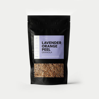 LAVENDER ORANGE GRANOLA - #hapi Fish-BREAKFAST