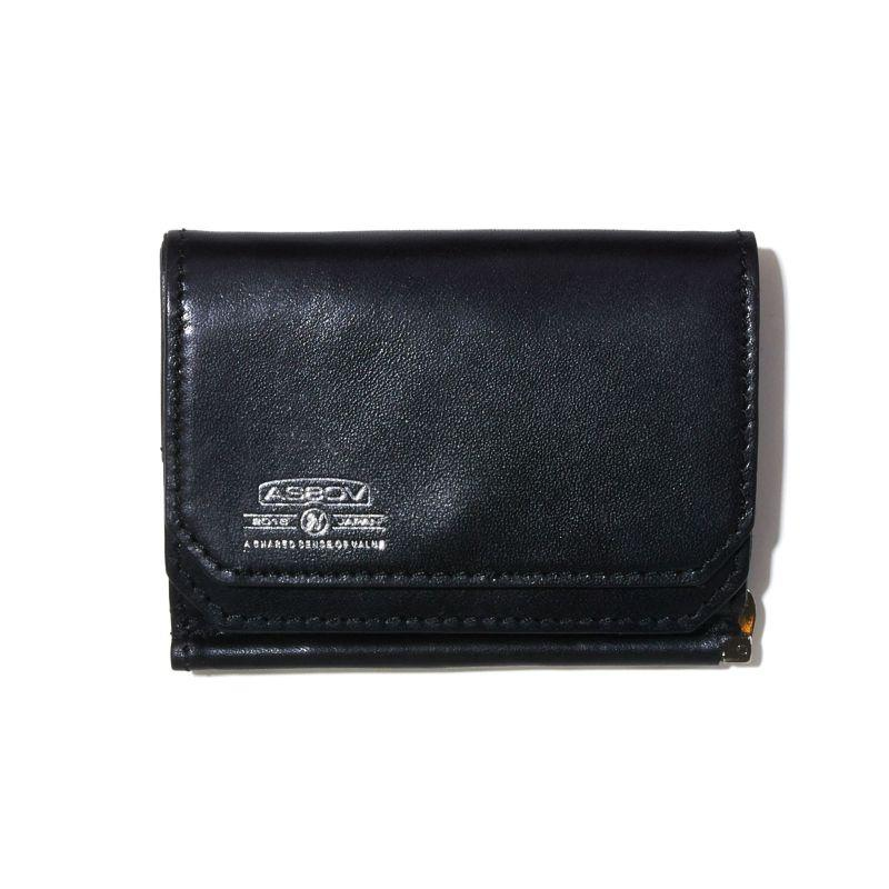 LEATHER MOBILE MONEY CLIP WALLET F