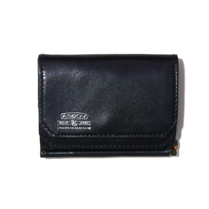 LEATHER MOBILE MONEY CLIP WALLET F - #hapi Fish-SMALL GOODS