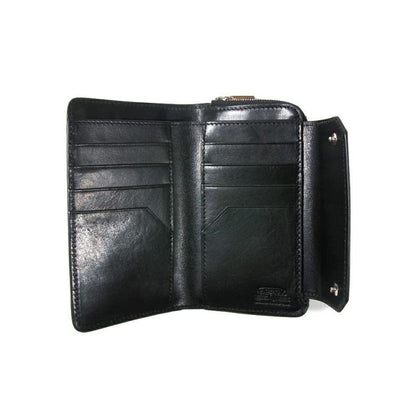LEATHER MOBILE SHORT WALLET F - #hapi Fish-SMALL GOODS