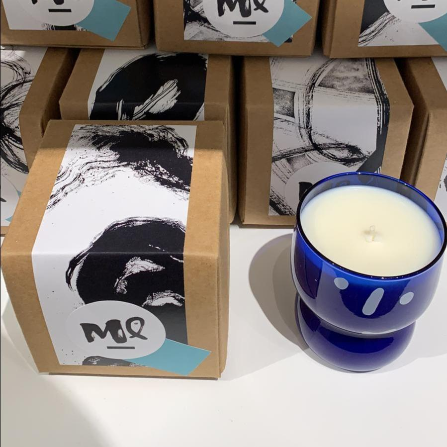 Michell Lie #HAPI Christmas Candle - Blue