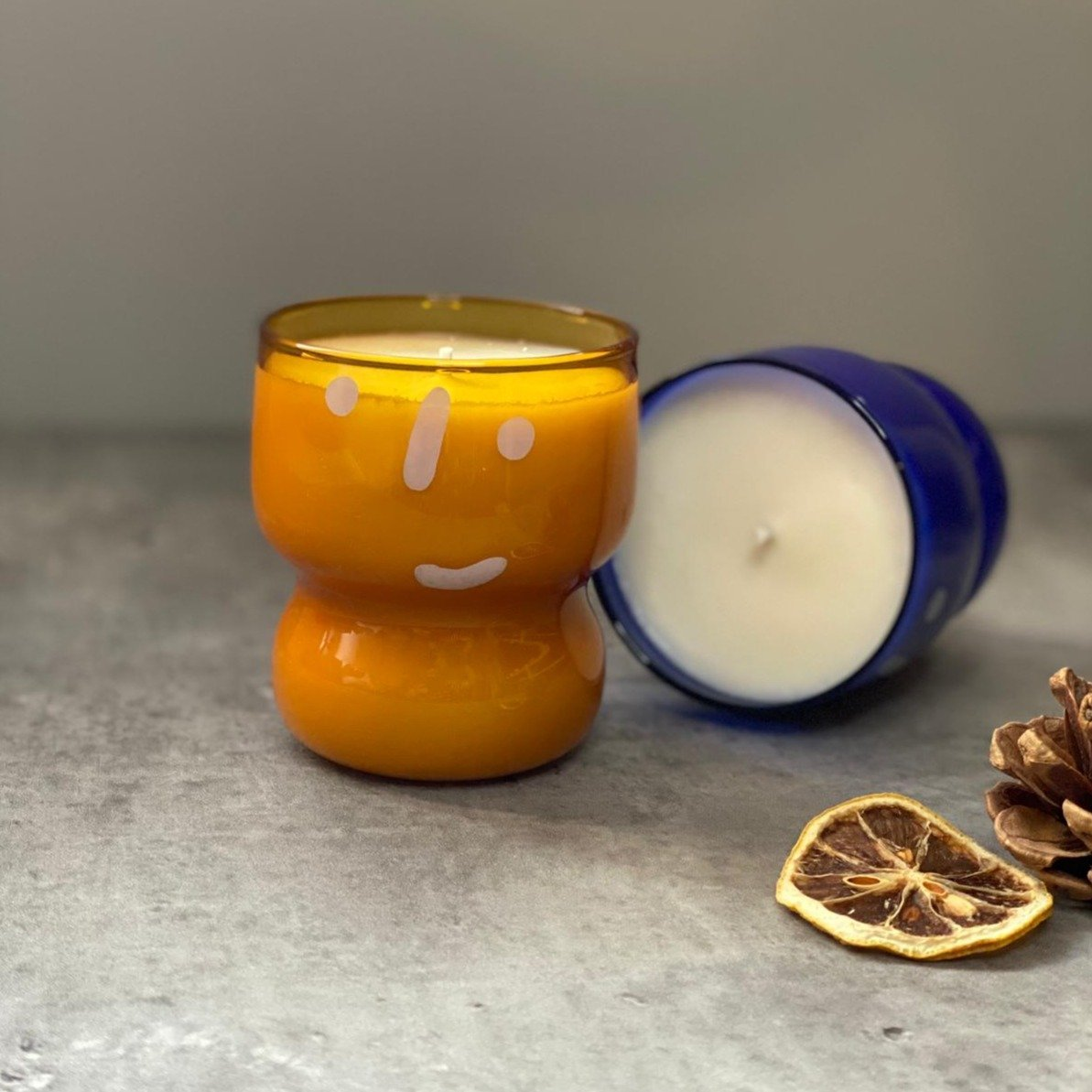 Michell Lie #HAPI Christmas Candle - Yellow