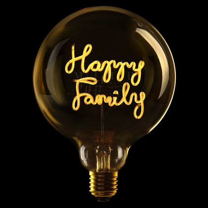 MITB HAPPY FAMILY MSG LIGT - #hapi Fish-Light bulb