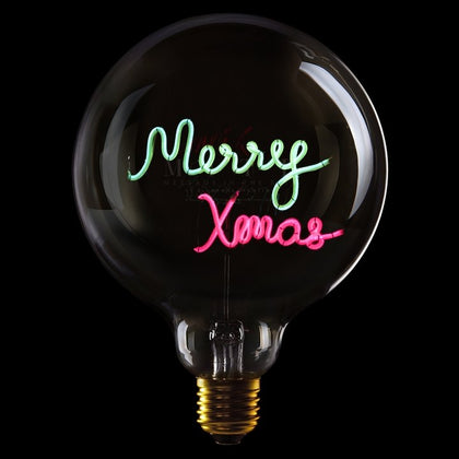 MITB MERRY XMAS MSG LIGHT - #hapi Fish-Light bulb