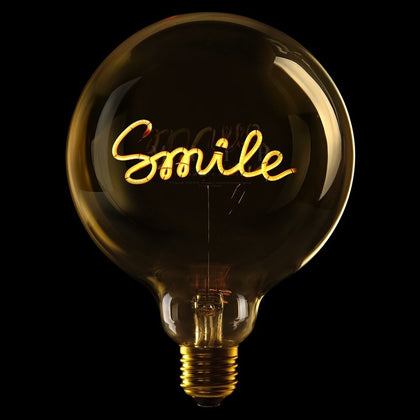 MITB SMILE MSG LIGHT - #hapi Fish-Light bulb