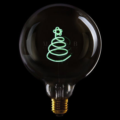 MITB XMAS TREE MSG LIGHT - #hapi Fish-Light bulb