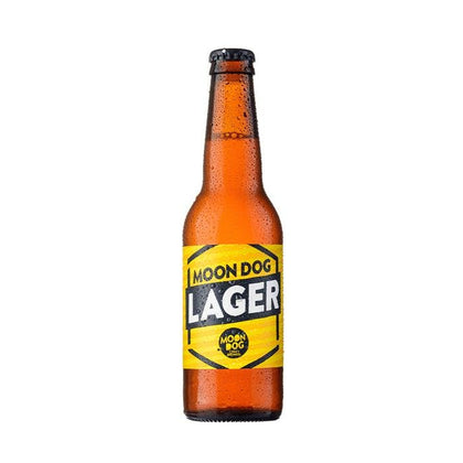 MOON DOG LAGER 330ML - #hapi Fish-BEER