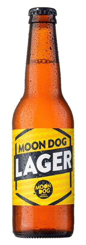 MOON DOG LARGE 330ML - #hapi Fish-BEER