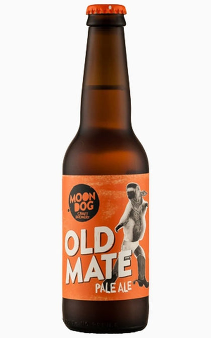 MOON DOG OLD MATE PALE ALE - #hapi Fish-BEER
