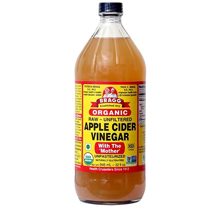 Organic Apple Cider Vinegar with The Mother - #hapi Fish-SOUP & SAUCE