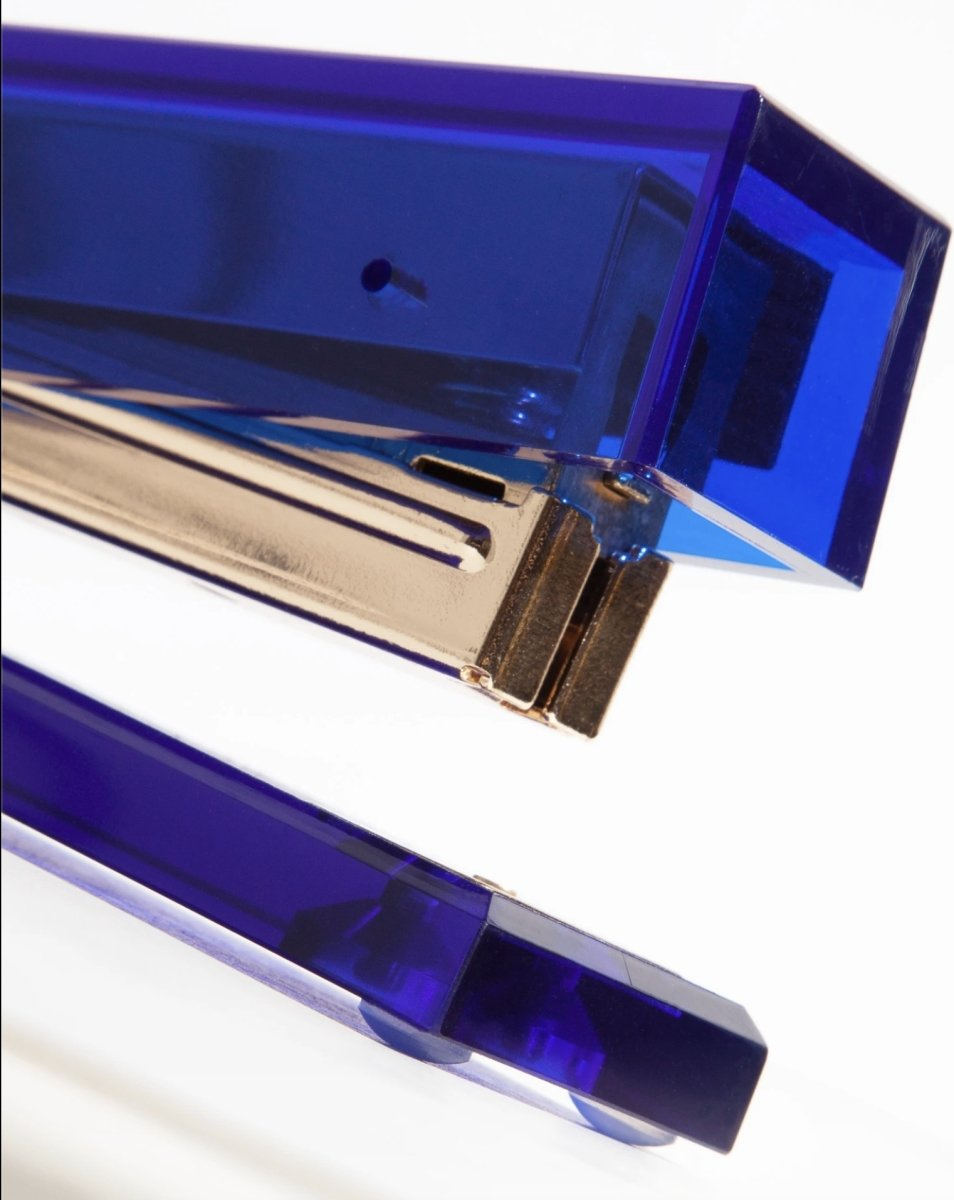 Poketo Acrylic Stapler in Cobalt
