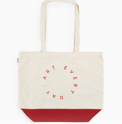 Poketo BMT Art Every Day Tote R - #hapi Fish-TOTE BAG