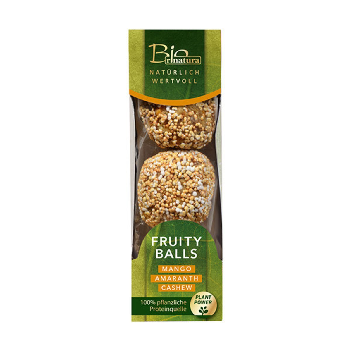 Rinatura Organic Fruity Balls (Mango, Amaranth and Cashew) 60G