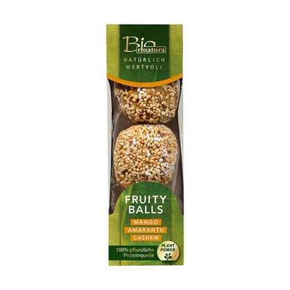 Rinatura Organic Fruity Balls (Mango, Amaranth and Cashew) 60G - #hapi Fish-SOUP & SAUCE