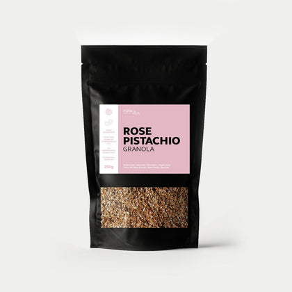 ROSE PISTACHIO GRANOLA - #hapi Fish-BREAKFAST